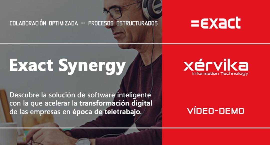 Exact Synergy, colaboración optimizada y procesos estructurados